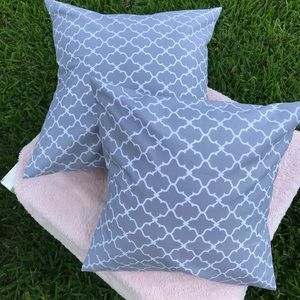 Throw pillow cases/cover (18x18;16x16)